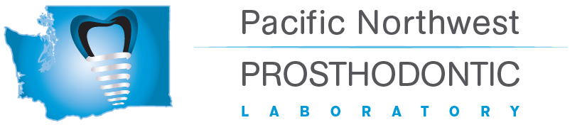 Pacific Northwest Prosthodontic Lab home button and logo